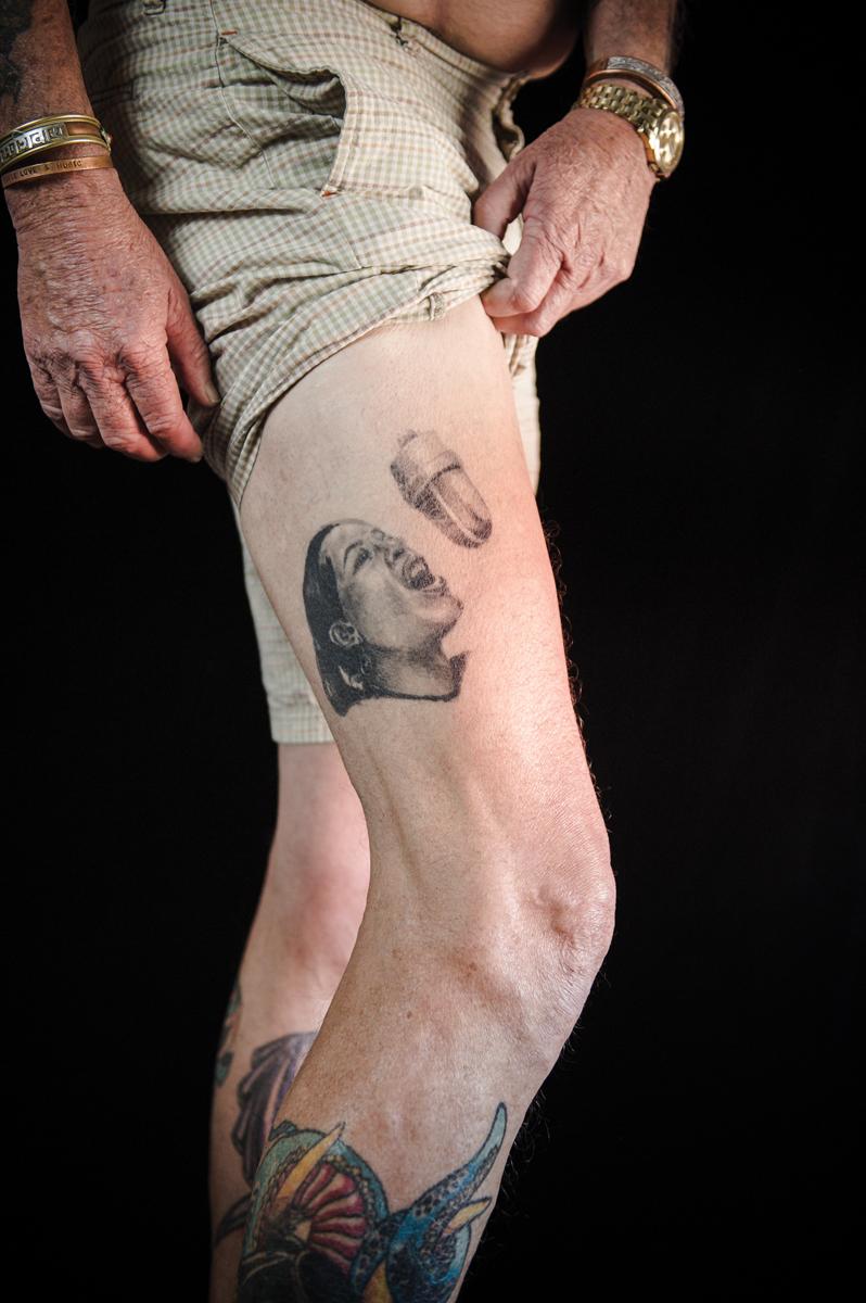 How do you tattoo a dick