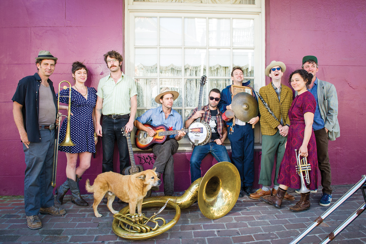 Masterful And Exuberant: Tuba Skinny electrifies the streets