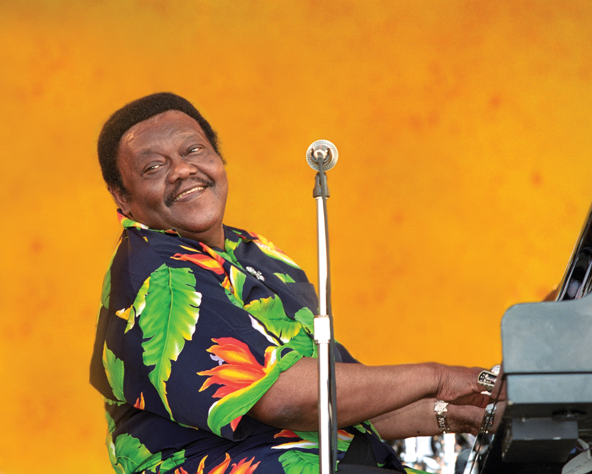 Fats Domino The Quintessential New Orleanian Offbeat